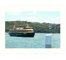 Manly Ferry Art Print