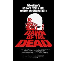 romero cult movie dawn of the  dead Photographic Print