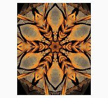 Rustic Barbed Star Mandala Unisex T-Shirt