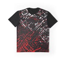 Techno Stone, Red (Texture) Graphic T-Shirt