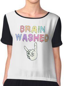 Brain-washed Chiffon Top