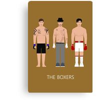 THE...BOXERS Canvas Print