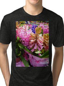 Hyacinths Tri-blend T-Shirt