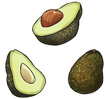 Avocados by seelpeel