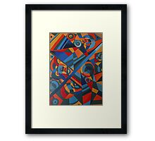 My art! Framed Print