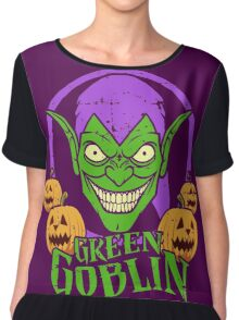 Green Goblin •Amazing Spider-Man Comics Chiffon Top
