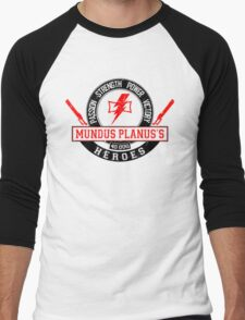 Mundus Planus Heroes - Limited Edition Men's Baseball ¾ T-Shirt