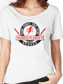 Mundus Planus Heroes - Limited Edition Women's Relaxed Fit T-Shirt