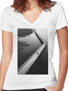 Port Royal  Women's Fitted V-Neck T-Shirt