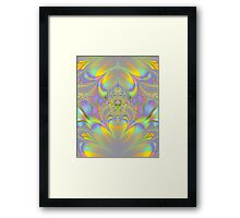 FRACTAL ~ ABSTRACT ~ COLORFUL  Framed Print