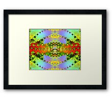 FRACTAL # 2 ~ ABSTRACT ~ COLORFUL  Framed Print