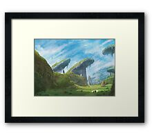 Bionis' Leg (53 Left) Framed Print