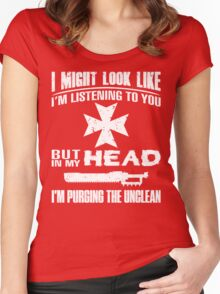 Eternal Crusader Purge - Limited Edition Women's Fitted Scoop T-Shirt