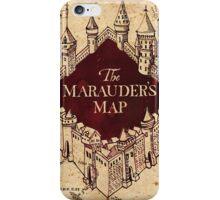 The Marauder's Map iPhone Case/Skin