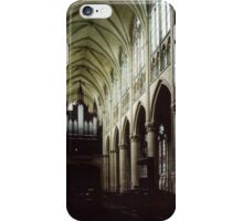 Nave of Cathedral St Etienne Chalons sur Marne France 19840506 0042 iPhone Case/Skin