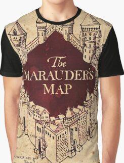 The Marauder's Map Graphic T-Shirt
