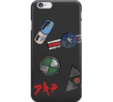 Akira Motor Stickers Design iPhone Case/Skin