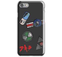 Akira Motor Stickers Design iPhone Case/Skin