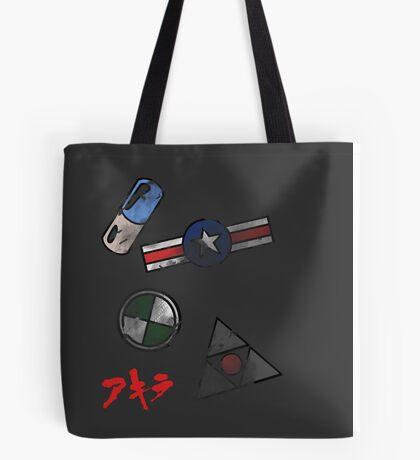 Akira Motor Stickers Design Tote Bag