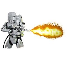 Flametrooper Photographic Print
