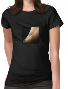 Blue window Womens Fitted T-Shirt
