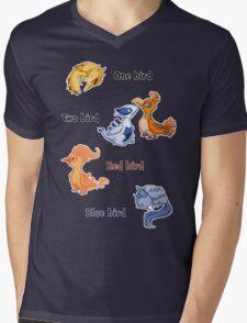 One bird Mens V-Neck T-Shirt