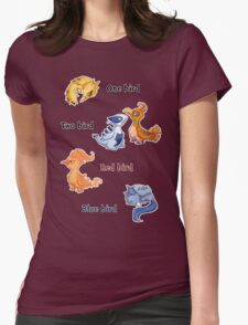 One bird Womens Fitted T-Shirt