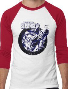 Doctor Strange •Blue & Black Men's Baseball ¾ T-Shirt