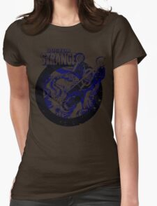 Doctor Strange • Blue & Black Womens Fitted T-Shirt