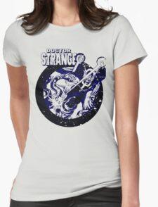 Doctor Strange •Blue & Black Womens Fitted T-Shirt