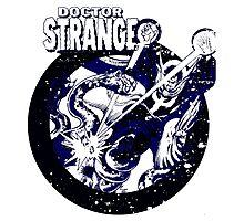 Doctor Strange •Blue & Black Photographic Print