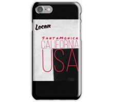 Santa Monica California USA  iPhone Case/Skin