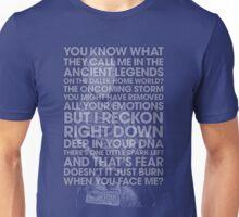Nine - Doctor Who Typography Clothing Unisex T-Shirt