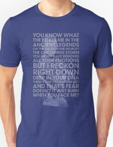 Nine - Doctor Who Typography Clothing T-Shirt