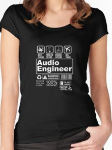 AUDIO ENGINEER Women's Fitted Scoop T-Shirt