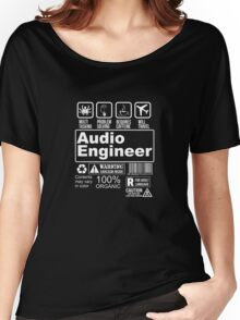 AUDIO ENGINEER Women's Relaxed Fit T-Shirt