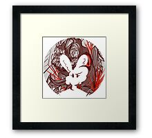 Bunny: Gore Justice - Bunny Bubble Framed Print