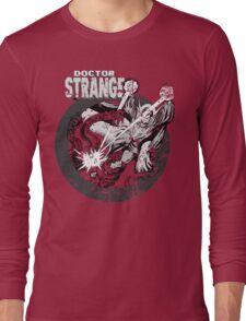 Doctor Strange •Black & White Long Sleeve T-Shirt