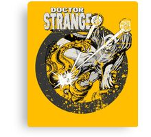 Doctor Strange • Black & White Canvas Print