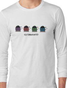 Chubby Daleks Long Sleeve T-Shirt