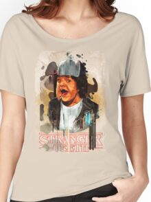Dustin Stranger Things - Teeth  Women's Relaxed Fit T-Shirt