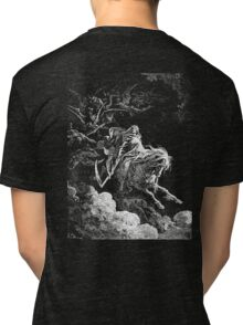 DEATH, Death on the Pale Horse, Revelation, Revenge, Gustave Doré, (1865), Revelations, Seven Seals Tri-blend T-Shirt