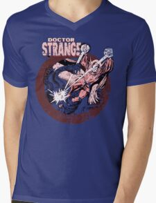Doctor Strange • Red Tint Mens V-Neck T-Shirt