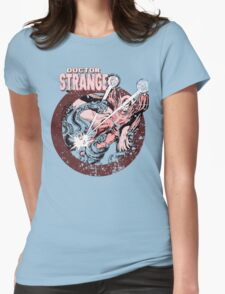 Doctor Strange • Red Tint Womens Fitted T-Shirt