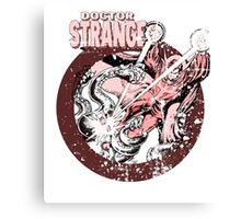 Doctor Strange • Red Tint Canvas Print