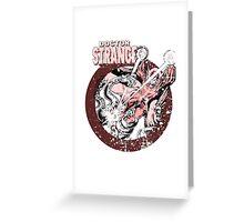 Doctor Strange •Red Tint Greeting Card
