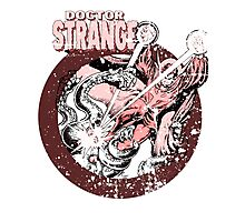 Doctor Strange • Red Tint Photographic Print