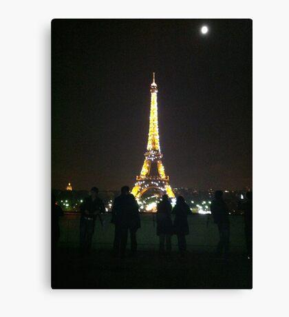 Eiffel Tower, Paris - France Canvas Print