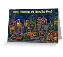 I wish you all Merry Christmas & Happy New Year! Greeting Card