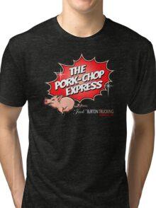 PORK-CHOP EXPRESS JACK BURTON BIG TROUBLE IN LITTLE CHINA Tri-blend T-Shirt